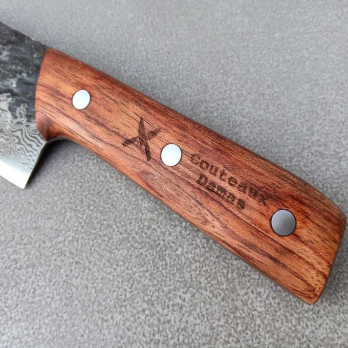 Manche de couteau en palissandre