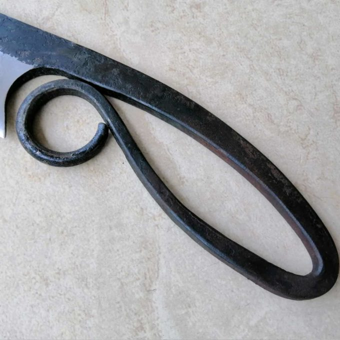 medieval knife handle