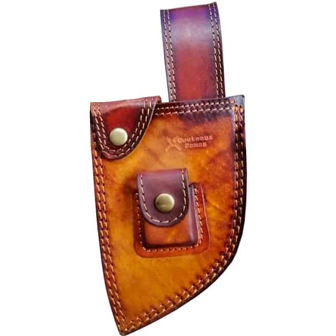 wide leather sheath