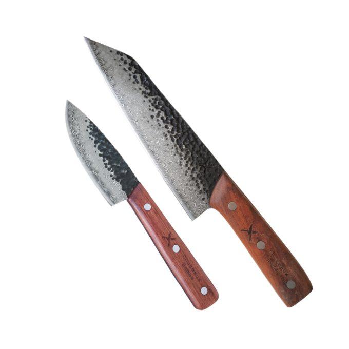 pattern welded duo set